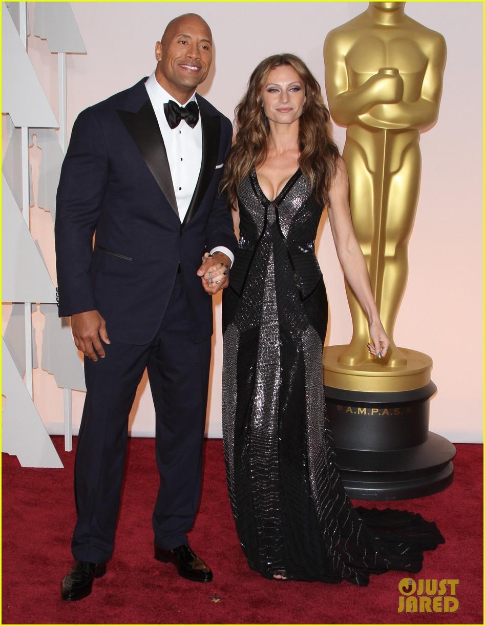 Johnson Family Vacation Full Movie >> Dwayne 'The Rock' Johnson Brings Hot Girlfriend Lauren Hashian to Oscars 2015: Photo 3311046 ...