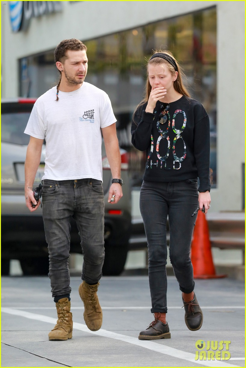 Piercing photo 3315381 mia goth shia labeouf pictures just jared