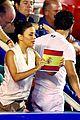 eva longoria jose baston kiss at mexican open 08