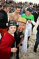 lady gaga taylor kinney polar bear plunge chicago 07