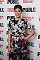 anne hathaway steps out to celebrate the public theaters opening night 08