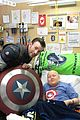 chris evans chris pratt cap america childrens hospital seattle 10