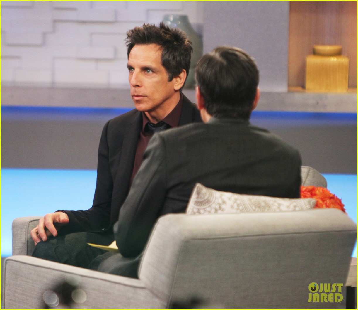 Good Morning America Intruder Interview : Ben stiller continues promo tour for while we re young