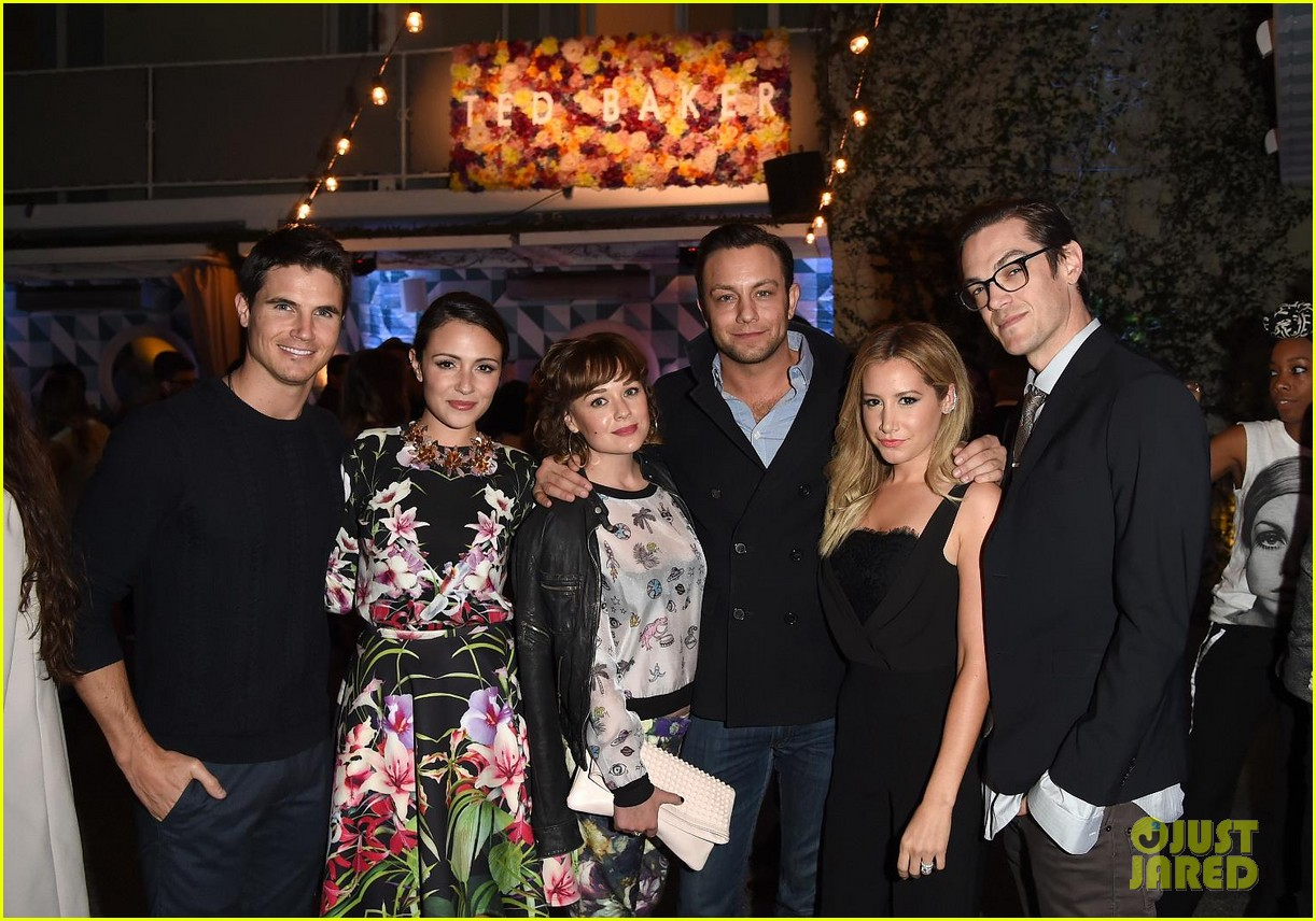ashley tisdale italia ricci robbie chris ted baker event 043318948