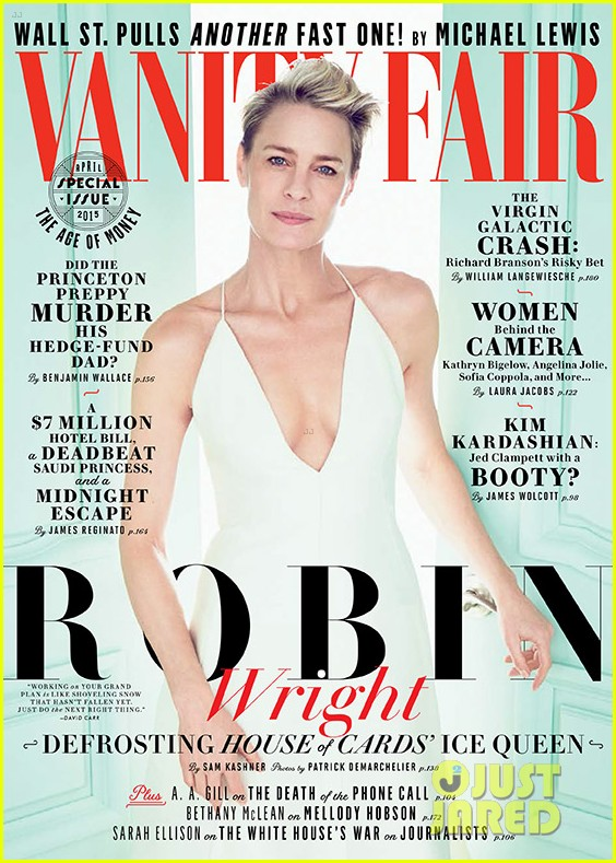 Vanity Fair April 2020.Robin Wright Vanity Fair April 2020 سمكة الامارات