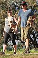milla jovovich hike with paul ws anderson pregnant 15