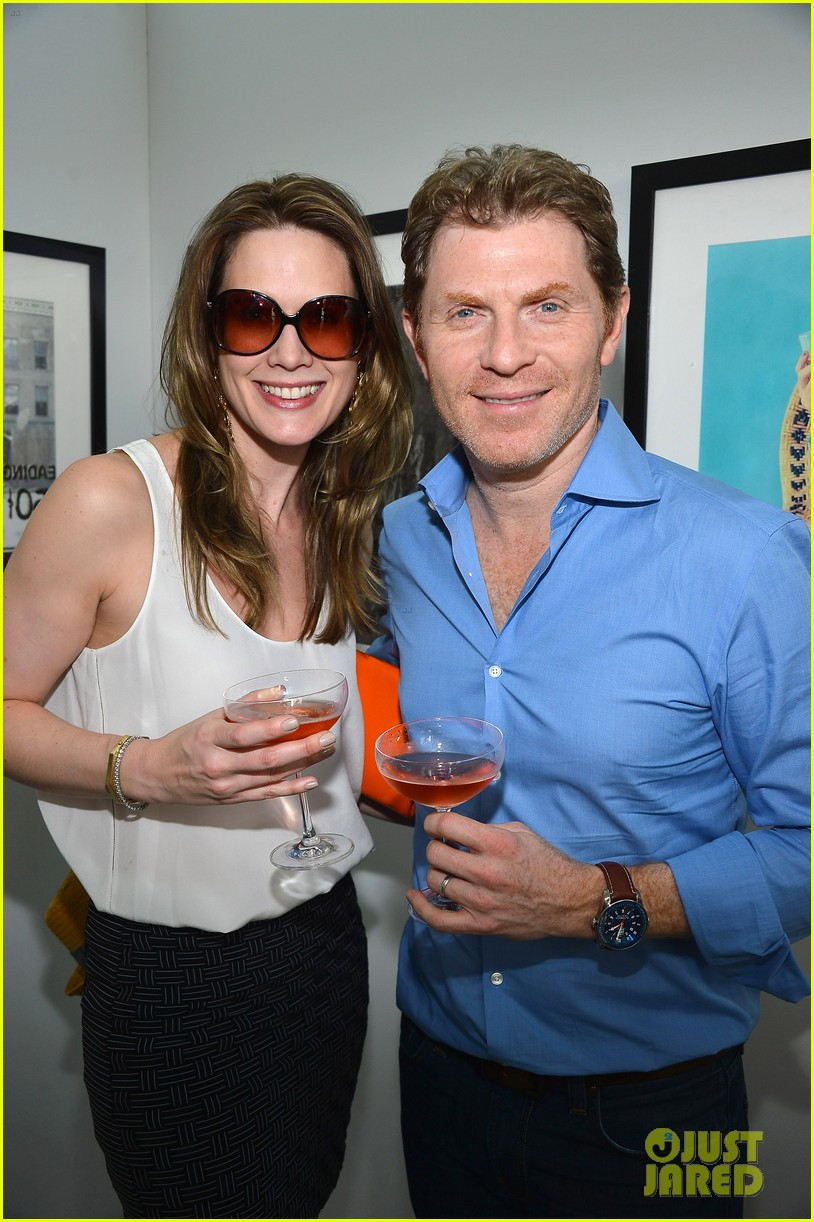 What is the name of the actress Bobby Flay married?