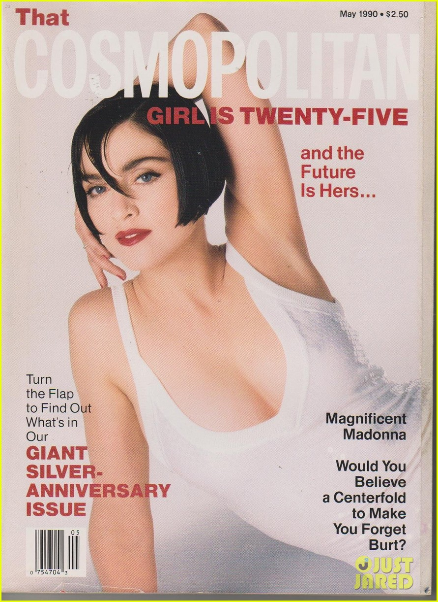 Madonna posa para el 50 Aniversario de COSMOPOLITAN MAGAZINE. Madonna-is-all-about-sex-for-cosmos-50th-anniversary-issue-02