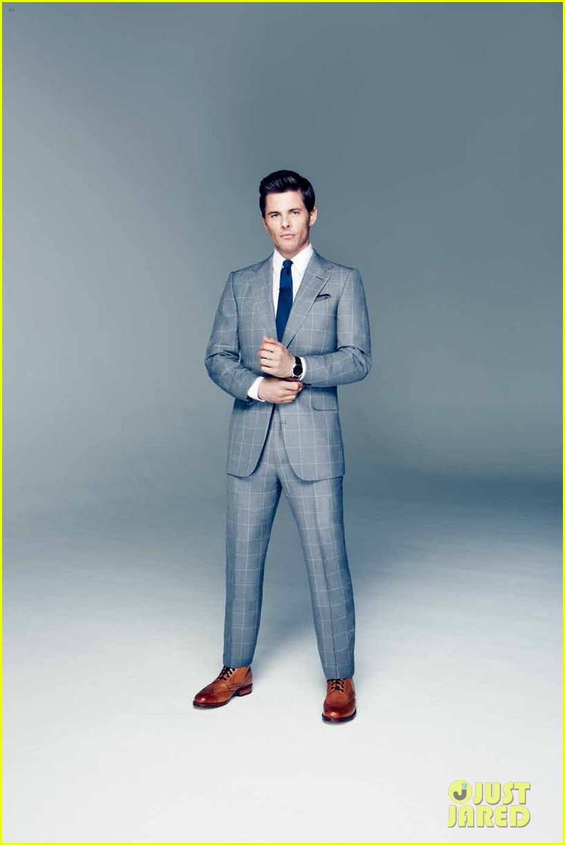 James Marsden Gets Suited Up in a Sexy Behind-the-Scenes ...