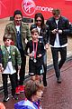 beckham family romeo london marathon 30