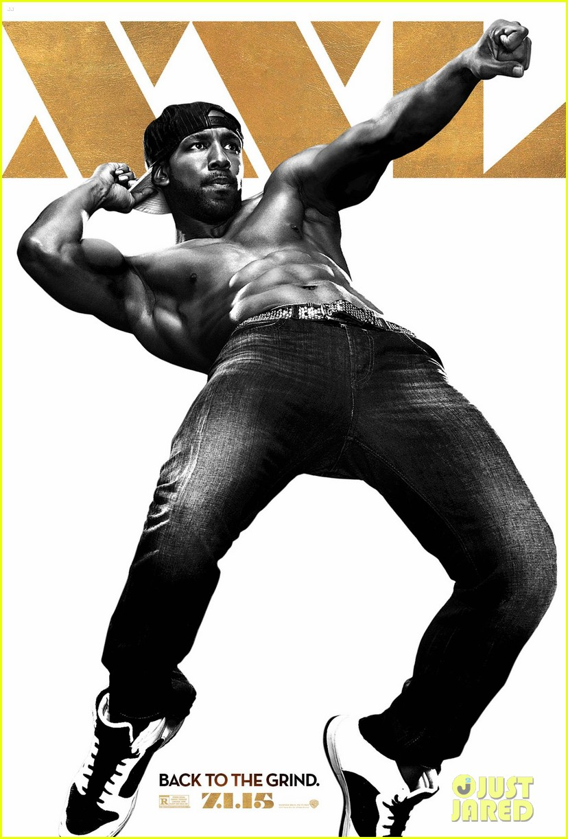 twitchs abs are rock solid for magic mike 2 poster 01