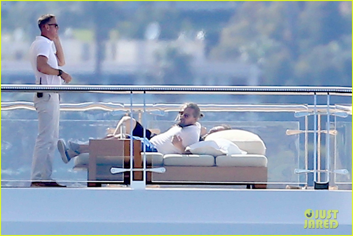 Leonardo DiCaprio Lounges On Yacht in Cannes - Again!: Photo 3376288 ... Jesse Eisenberg