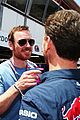 michael fassbender alicia vikander couple up at f1 grand prix 03