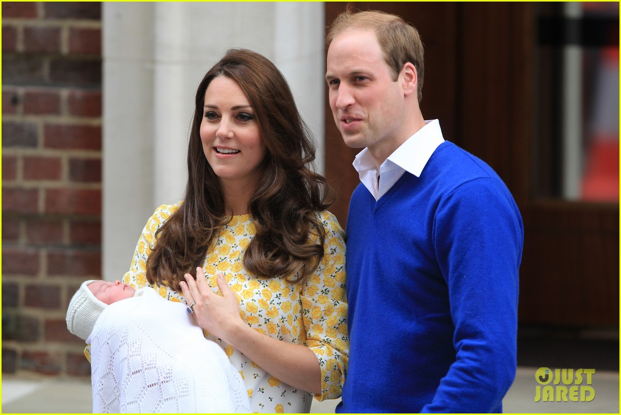 royal baby girl first appearance with kate middleton prince william 183361762