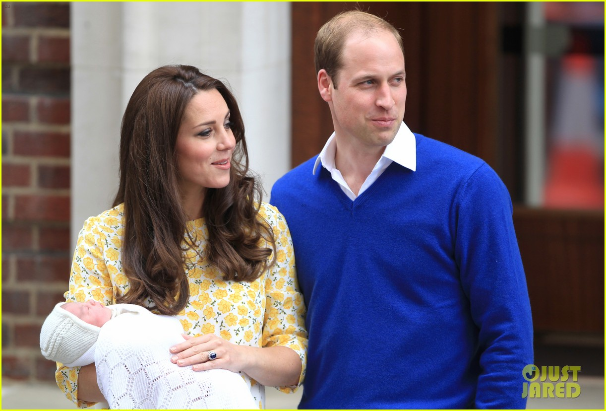 royal baby girl first appearance with kate middleton prince william 283361772