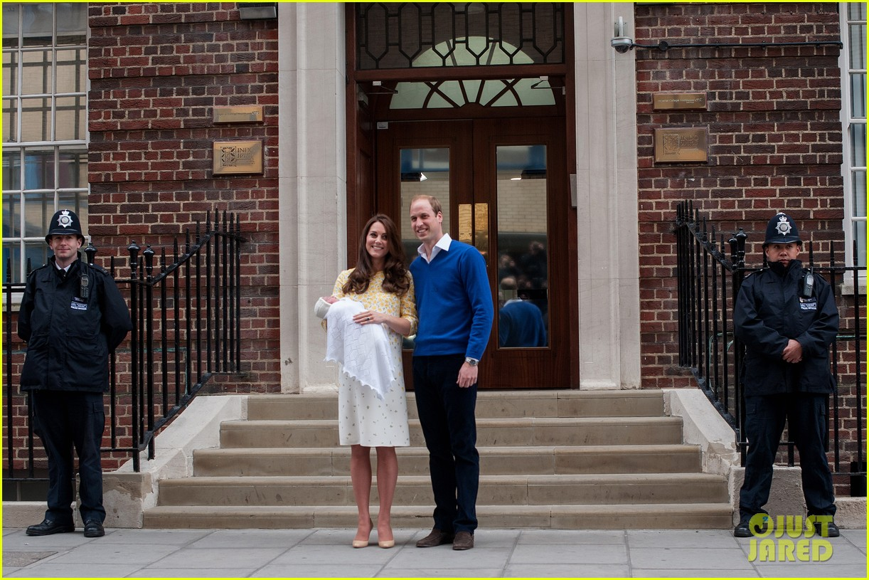 royal baby girl first appearance with kate middleton prince william 333361777