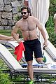 jake gyllenhaal goes shirtless during italy vacation with greta caruso 03
