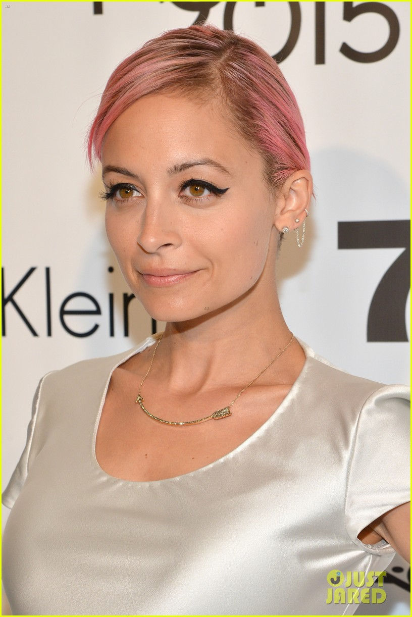 Nicole Richie Hits NYC for FIT's Future Of Fashion Runway Show Nicole Richie