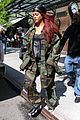 rihanna steps out in camo nyc 06
