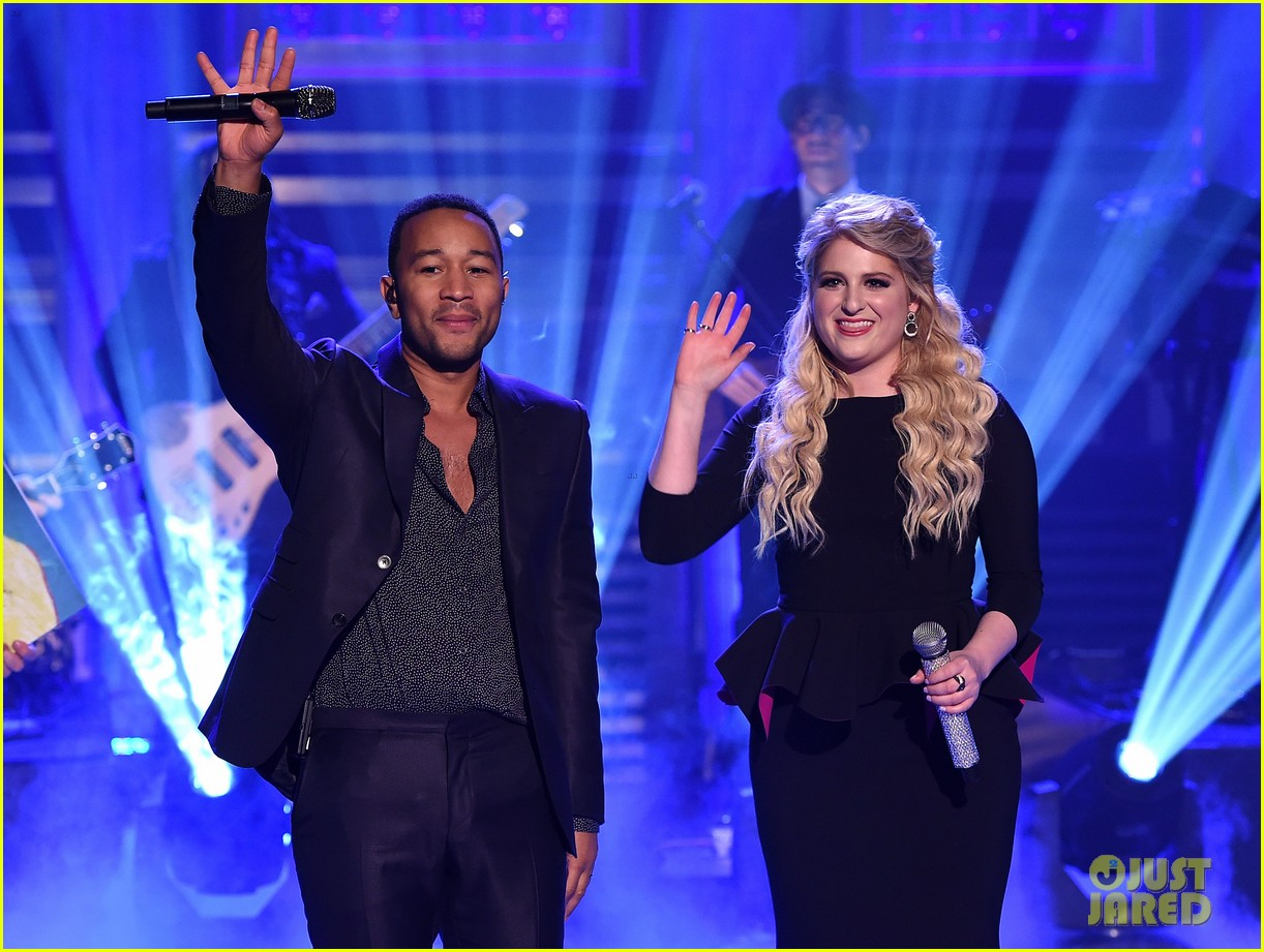 John legend and meghan trainor dating who