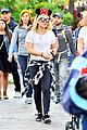 hilary duff luca disneyland family quality time  04