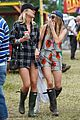 jenna coleman suki waterhouse 2015 glastonbury 24