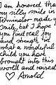 arnold schwarzenegger pens touching letter to terminator fan 05
