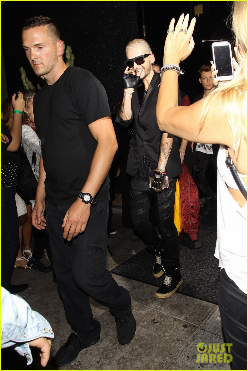 Picture of tom kaulitz - Tokio Hotel S Bill Tom Kaulitz Hit Up Their Concert S After Party Photo 3426246 Bill Kaulitz Tokio Hotel Tom Kaulitz Pictures Just Jared