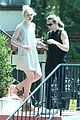 elle fanning movie date night zalman band lunch mom 22