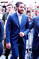 jake gyllenhaal bad blood play during gma interview 04
