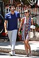 jesse metcalfe cara santana lunch the ivy 08
