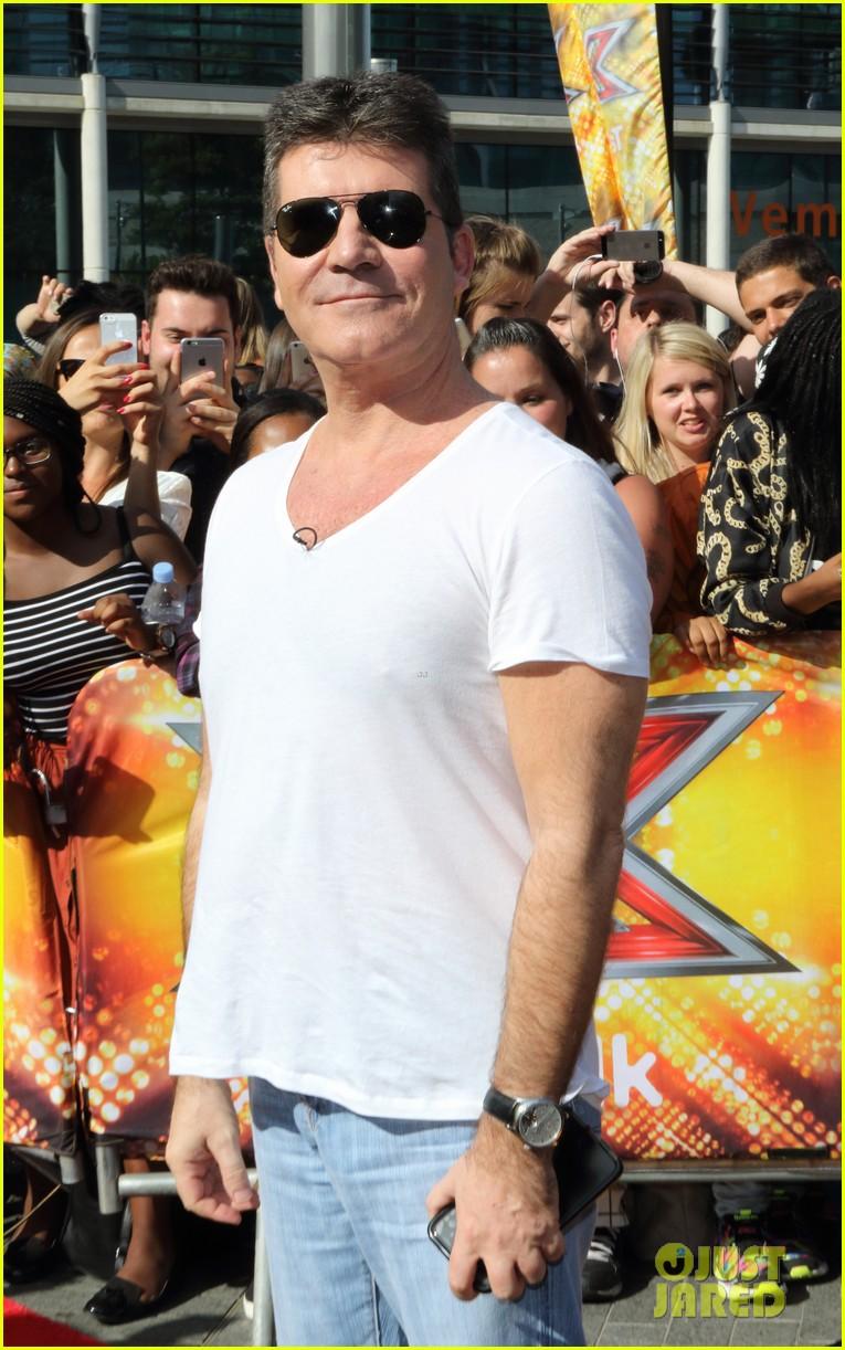 Olly murs black t shirt x factor - Rita Ora Cheryl Fernandez Versini Get Ride From Olly Murs To X Factor Auditions