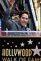 paul rudd hollywood walk of fame star 12