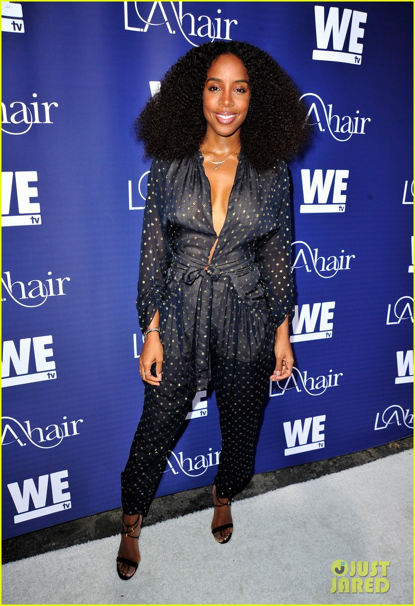 Kelly Rowland & Michelle Williams Reunite at #LAHair ...
