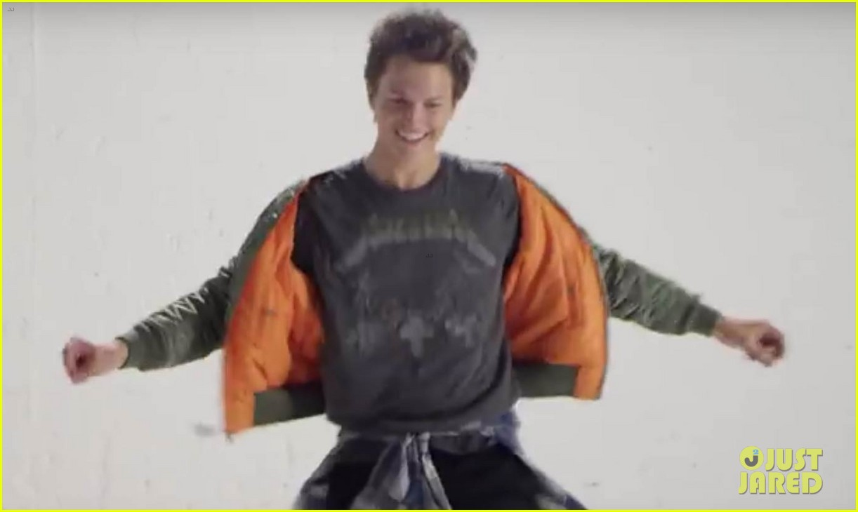 Watch ansel elgort dance through the decades for teen vogue photo