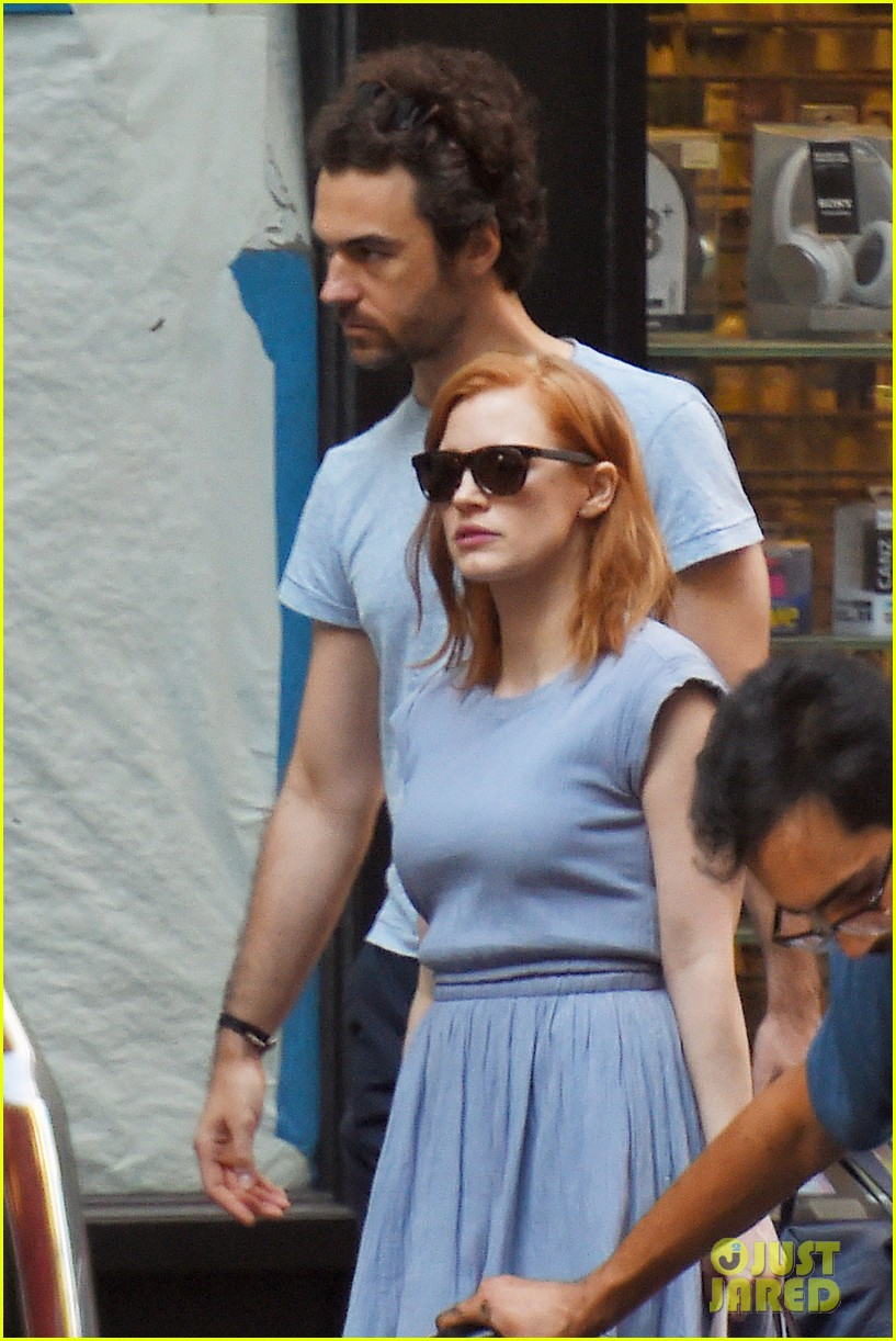 Full Sized Photo of jessica chastain boyfriend are ... Jessica Chastain Husband
