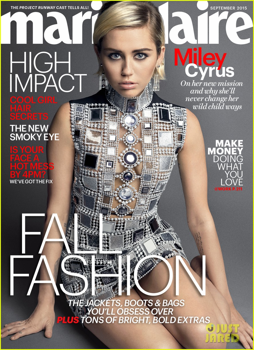 miley cyrus tells marie claire she doesn t want to be a miley cyrus tells marie claire she doesn t want to be a conventional role model photo 3434484 magazine miley cyrus pictures just jared