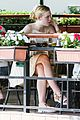 elle fanning lunch dakota hair appointment separate outings 07