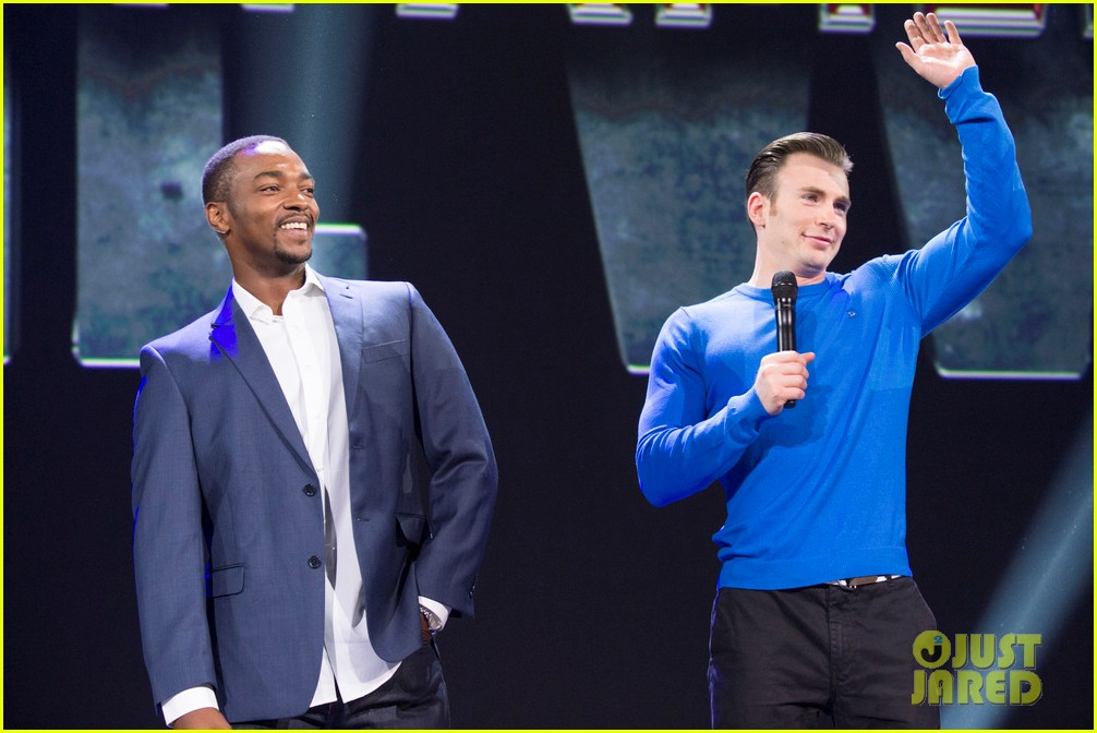 Franchise Marvel/Disney #3 Chris-evans-anthony-mackie-captain-america-disney-d23-expo-15