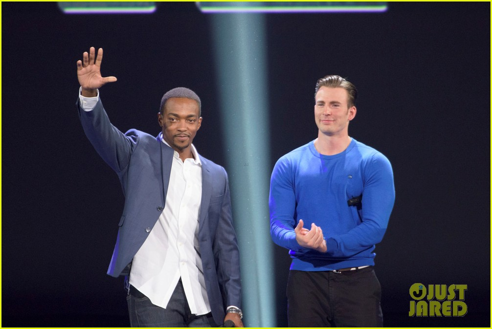 Franchise Marvel/Disney #3 Chris-evans-anthony-mackie-captain-america-disney-d23-expo-23