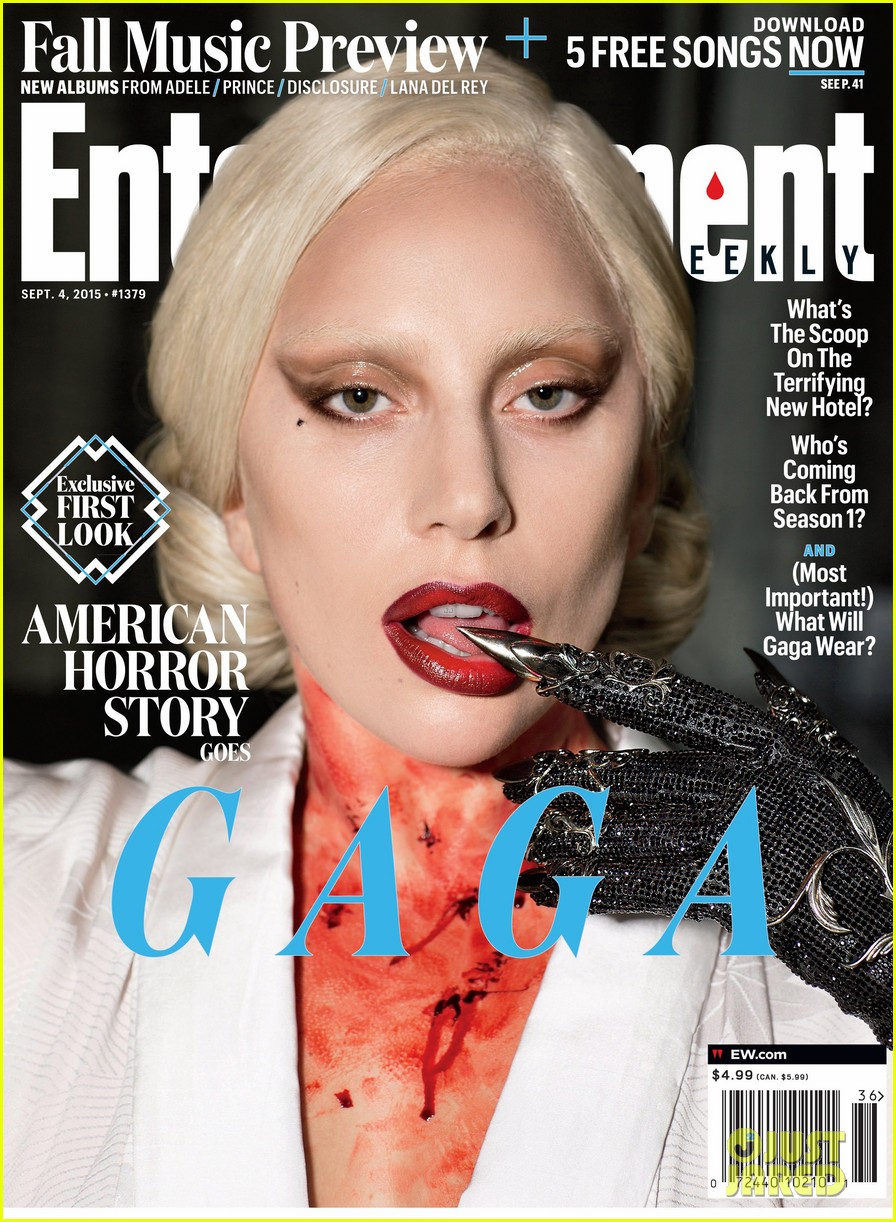 lady gaga covers ew american horror story 01