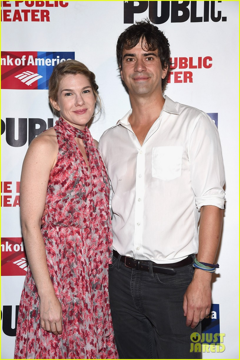 lily rabe boyfriend hamish linklater celebrate opening night of cymbeline 023435622
