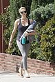 charlize theron yoga class after adopting 07