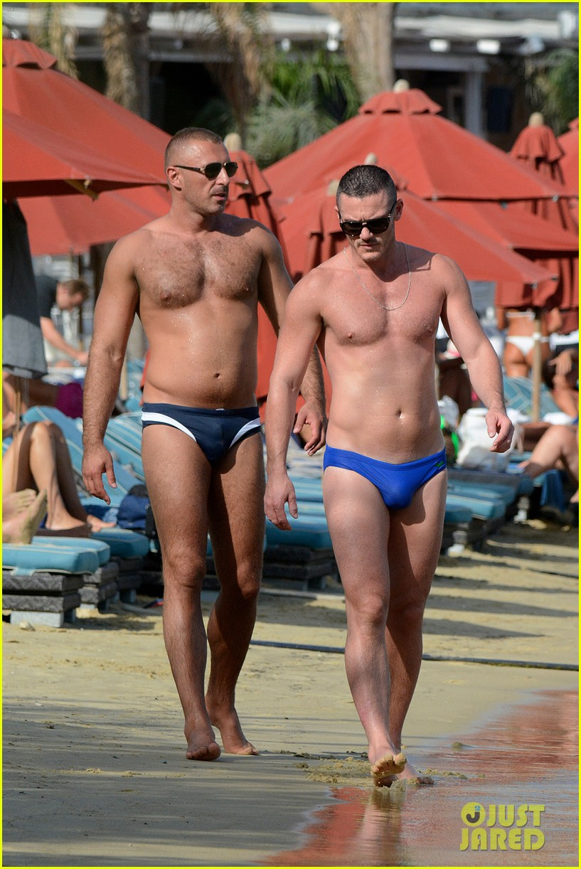 Luke Evans' Speedo Leaves Nothing to the Imagination: Photo 3455078 ...
