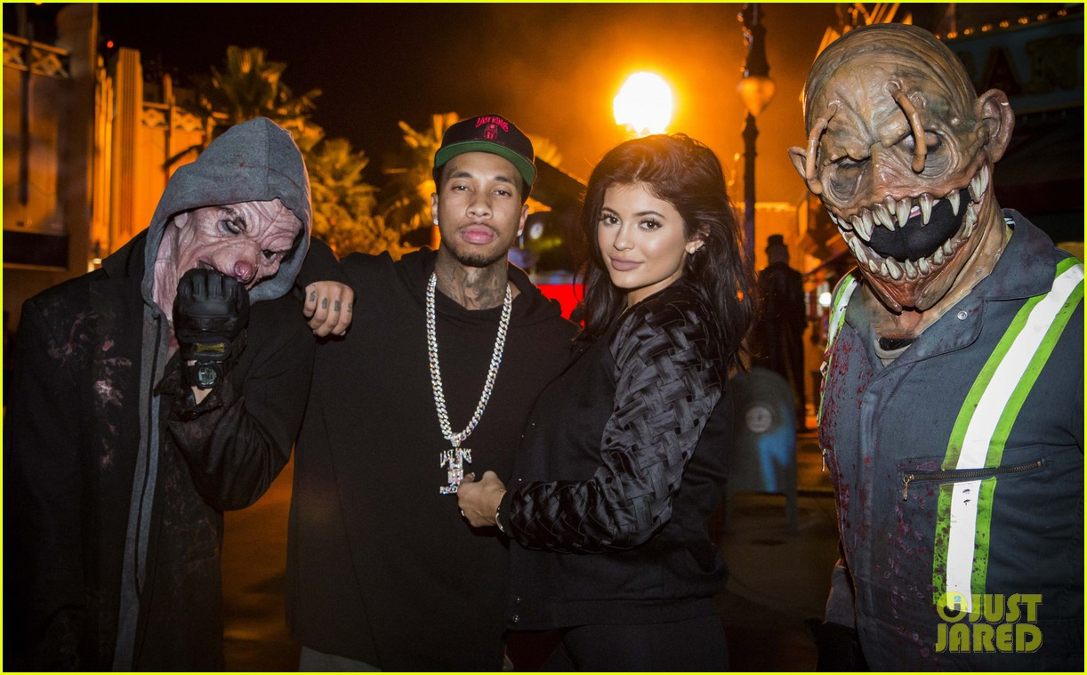 Kylie Jenner & Tyga Are Getting All Ready For Halloween!: Photo ...