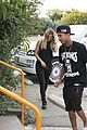 kylie jenner tyga lunch kris corey dinner out 28