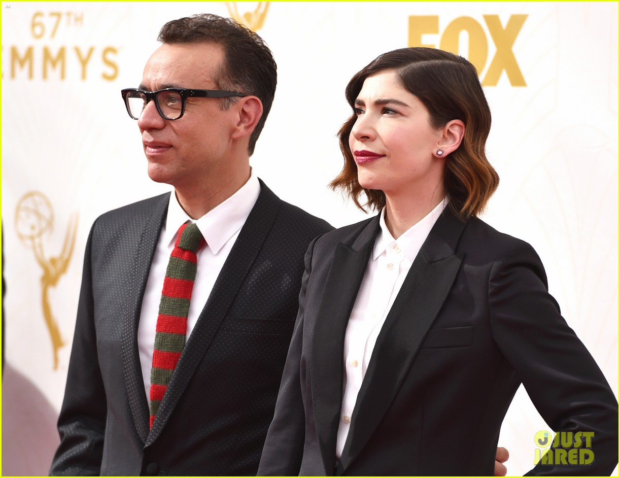 fred armisen carrie brownstein portlandia emmys 2015 033466729