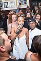 rihanna hosts nyfw roc nation block party with travis scott 02