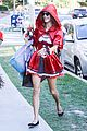 alessandra ambrosio jamie mazur little red riding hood halloween 2015 12