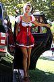 alessandra ambrosio jamie mazur little red riding hood halloween 2015 35